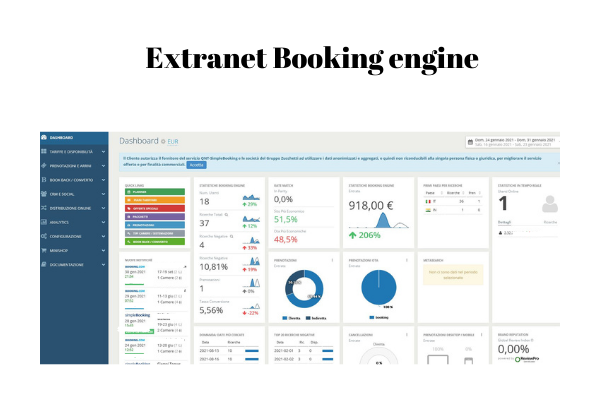 extranet booking engine